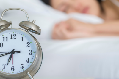 Are you actually sleeping or just getting sedated?